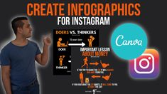 So, in this video you will learn how to create Instagram infographics with Canva easily and of course totally for free! With canva you can create infographics / images or quotes for any social media platform or maybe even your store, business and so on. I hope this video helps you to create your first amazing and stunning instagram infographics. 10 Years Later, How To Create Infographics, Free Instagram, You Tried, Create Yourself, Social Media, Learning, Canvas, Youtube