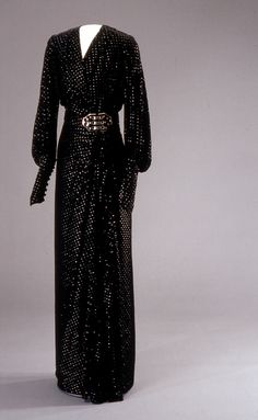 Dress, early 1930's