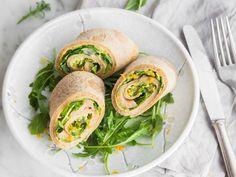Clean eating: Pfannkuchen mit Avocadopesto