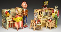 UNIQUE ART LIL ABNER & HOWDY DOODY BAND TOYS.