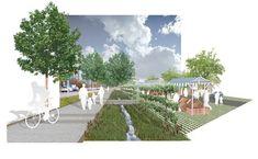 PWL Partnership Landscape Architects creates a dynamic and multifunctional landscape #hub #landscape #architecture