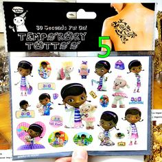Toy Doctor Mcstuffins Child Favourites Temporary Body Art Flash Tattoo Stickers, 17*10cm Waterproof Henna Tatoo Wall Sticker♦️ SMS - F A S H I O N 💢👉🏿 http://www.sms.hr/products/toy-doctor-mcstuffins-child-favourites-temporary-body-art-flash-tattoo-stickers-1710cm-waterproof-henna-tatoo-wall-sticker/ US $0.75