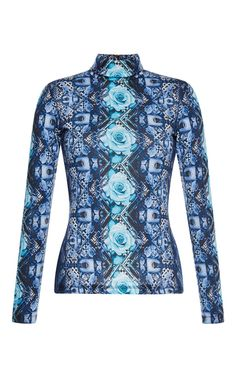 Manish Arora Guns and Roses Printed Shirt