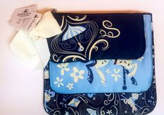 Disney Parks  Mary Poppins Carousel Travel Cosmetic Makeup Bags Set Of 3 NEW #Disney