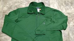 Patagonia R1 1/2 Zip Fleece Pullover Men's Size XL Color Green Emerald #Patagonia #12Zip