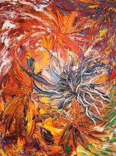 Guus Kemp oil on canvas