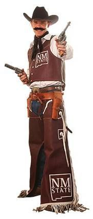 Pistol Pete-New Mexico State Aggies Mascot.