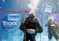 Meet us at the Boot Hall 3 Stand B85! St Andrews Divers Cove Gozo Malta!