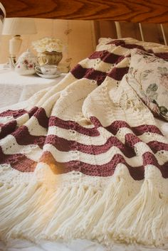 Second Silver - Favorite Ripple afghans 40 crochet patterns Leisure Arts Crochet with Heart Magazine