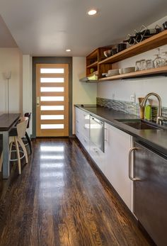 17 best accessory dwelling units adus images on pinterest kitchenette and front entrance to sellwood home addition malvernweather Gallery