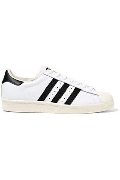 6eceddc5376b adidas Originals - Superstar Leather Sneakers - White - US