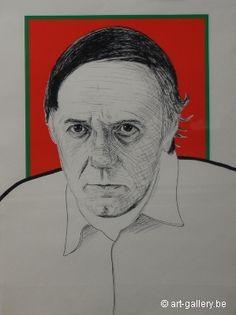 RAVEEL Roger   Self portrait