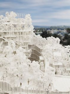 Gallery of Sou Fujimoto and Laisné Roussel Propose Wooden Mixed-Use Tower for Bordeaux - 15