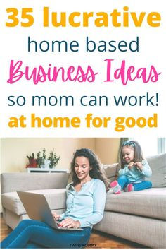 Want to work from home especially during a pandemic? Covid isn't going away and that means staying home is safe. Here are 35 lucrative business ideas just for moms at home. They are easy, they… More Home Based Business, Business Ideas, Online Business, How To Find Out, How To Become, All About Mom, Money From Home, Virtual Assistant, Blogging For Beginners