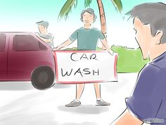Fundraising Ideas for Work: Car Wash -- Host a car wash in your office complex or nearby shopping center. Make signs and advertise around your office
