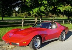 1973 Corvette Stingray w/T-tops