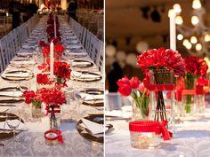 Palavras, Leva-as o Vento: Decoração casamento: vermelho (II)