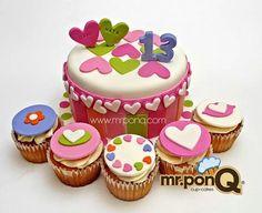 Mr.ponQ torta y cup-cakes Aghata Ruiz de la Prada