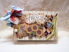 Mini Album Graphic45 Franch country