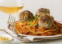Delicious Vegan Recipes - Chloe Coscarelli Vegan Dishes... Mama's Vegan Spaghetti and Meatballs