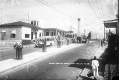 SANTO DOMINGO / 1940 Vista panoramica de la Avenida Jose Trujillo Valdez ( Hoy Av. Duarte ) Ciudad Trujillo , Republica Dominicana. Fuente : AGN / Imágenes de Nuestra Historia.®