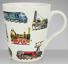 Cath Kidston Trains Mug, John Lewis £6.50