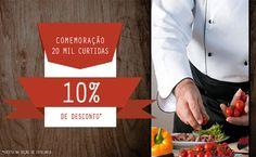 Professional Cheff comemora 20.000 likes no Facebook - http://superchefsbr.com/final/noticias-de-gastronomia/professional-cheff-20-mil-likes - #Facas, #ProfessionalCheff