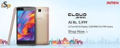Intex Cloud Jewel with 4G, 5-inch HD Display Launched at Rs 5,999 @ http://www.ispyprice.com/mobiles/6208-intex-cloud-jewel-price-list-india/