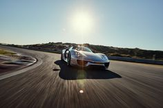 A stunning day on the Circuit with the 918 Spyder! | Tanja Stadnic Porsche…
