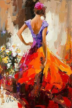 Oil painting - the living art! Painting People, Figure Painting, Painting & Drawing, Painting Classes, L'art Du Portrait, Dance Paintings, Fine Art Paintings, Beautiful Paintings, Figurative Art