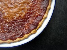 Salty Honey Pie - sweet salty combo is right on - different but so perfectly comforting with a big dollop of freshly whipped cream. www.homebeccanomics.com