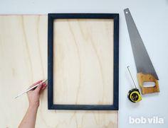 DIY Shadow Box - Step 1