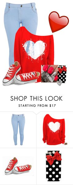 """""""❤️❤️❤️"""" by fatalbertsquad ❤ liked on Polyvore featuring Influence, Converse, Nadri, women's clothing, women, female, woman, misses and juniors"""