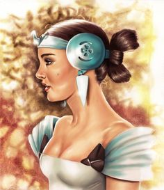 Lovely Padme Amidala, drawn by the also lovely, Angelina Benedetti. Original pencil drawing by here: Angelina Benedetti's Amidala Concept coloured Star Wars Concept Art, Star Wars Art, Anakin And Padme, Motif Art Deco, The Phantom Menace, Star War 3, Star Wars Episodes, Beautiful Drawings, Clone Wars