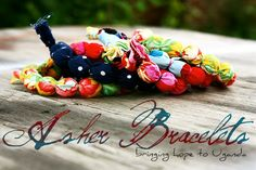 Asher Bracelets - proceeds go to Uganda for a surgery for a baby