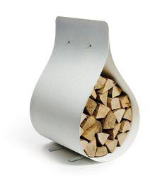 Modern Fire Wood Storage