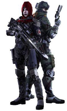 Echo & Lucas - Killzone: Shadow Fall