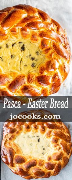 My recipe for Pasca, a traditional Romanian Easter Bread, has a touch of sweetness with fresh lemon zest. You're in for a treat with a sweet filling of ricotta, lemon, and raisins. Learn how to make this gorgeous sweet bread with an easy braided edge! Keto Bread Coconut Flour, Keto Mug Bread, No Bread Diet, Best Keto Bread, Almond Flour, Sugar Bread, Lemon Bread, Almond Milk, Easy Cake Recipes