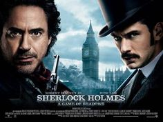 VFX supe Chas Jarrett ups the visual ante for the second Guy Ritchie/Sherlock Holmes thrill ride. Sherlock Holmes Robert Downey, Sherlock Holmes 3, Watch Sherlock, Blu Ray Movies, New Movies, Good Movies, Movies And Tv Shows, Susan Downey, Robert Downey Jr.