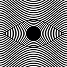Op art Eye by Sergi Delgado, Barcelona/ Spain sergidelgado.com/                                                                                                                                                     More
