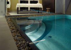 Techno, Wellness, Bathtub, Outdoor Decor, Home Decor, Travertine, Steam Bath, Natural Stones, Swimming