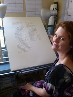 SCIENTIFIC calligraphy and biological art by Ms Kelly Houle of Arizona !  S T U N N I N G !  https://whyevolutionistrue.wordpress.com/2015/07/19/the-art-of-kelly-houle-biology-tiny-books-and-the-origin