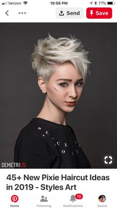 The short pixie haircut is as yet hot and getting one is the ideal method to emerge from the group. Here are 26 pixie haircuts you should see are going to be a year to take and bring a bang to hairstyles that are stylish and appealing.