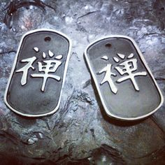 ...recently commissioned by Coach Francesco Menconi, two FKS Jewels antique finish sterling silver pendants, handmaded by Paolo Brunicardi Orafo...