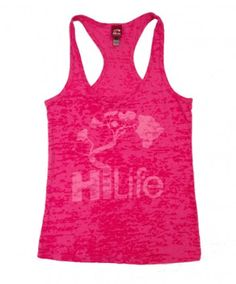 Women's HiLife Burnout Tank - Beaten Basic; Color Options: Raspberry, Seafoam, Royal and Black. $27.00 Available at islandsnow.com and at the Island Snow Hawaii Kailua Beach Center location.
