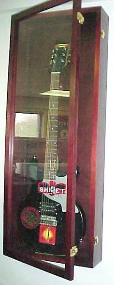 cool guitar pick case why not a golf ball case or any of your collections framed pinterest. Black Bedroom Furniture Sets. Home Design Ideas