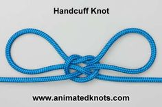 Detailed pictorial on how to tie many kinds of knots! Great resource: