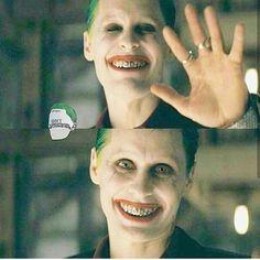 #thejoker #suicidesquad #jaredletojoker #jaredleto #suicidesquadmovie #skwad #hahaha #damaged #madclown #clown #kingofgotham #gotham #mistahj #clownprinceofcrime Joker Dc, Joker And Harley Quinn, Joker Photos, Jared Leto Joker, Joker Poster, Greatest Villains, Batman Universe, Batman Vs, Going Crazy