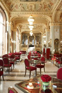 The  New York Café, Boscolo Luxury Hotel, Budapest, Hungary @}-,-;--