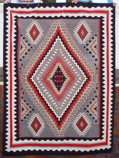 2079 Nora Bitusi Big Navajo Rug from the Nizhoni Ranch Gallery. A true work of art!